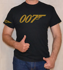 007,JAMES BOND,GOLD LOGO,FUN,T SHIRT $15.15 USD on eBay