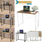 Folding Computer Desk Wooden Foldable Study Table Laptop PC Table Home Office