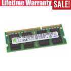 Samsung 8GB 2GB DDR3 1600MHz PC3-12800S SODIMM Laptop Memory Upgrade RAM LOT WG