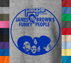 PEOPLE RECORDS T-Shirt Retro James Brown Funky Funk Soul on Ring Spun Cotton Tee image