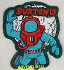 BURTON SNOWBOARDS 10 YEARS THE STASH, ASTRONAUT, SPACE DOG, SEW ON PATCH, NEW!