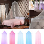 Bed Lace Mosquito Netting Mesh Canopy Princess Bedroom Round Bedding Net image
