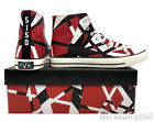 Official EVH Red High Top Sneakers Eddie Van Halen ALMOST GONE New LTD ED, OOP