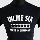 Inline Six T Shirt Cylinder BMW Series M2 M3 M4 Made In Germany Inspired Black