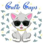 Cutie Caps 40 pack Silver Prism Glitter Soft Nail Guard for Cat Paws / Claws
