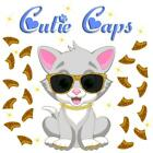 Cutie Caps 40 pack 24k Gold Glitter Soft Nail Defense Guard for Cat Paws / Claws