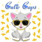 Cutie Caps 40 pack Canary Yellow Soft Nail Defense Guard for Cat Paws / Claws