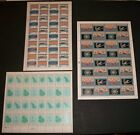 Mint NH Sheets of FIRST ISSUES from Micronesia, Palau and Marshal Islands