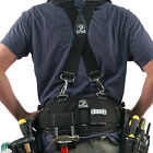 Gatorback B240 Electricians Tool Belt and B606 Suspenders Combo. Small - 3XL