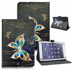 "Universal 10"" 10.1"" Tablet PC Painted Leather Stand Case Folio Cover For Samsung"
