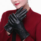 Leather TouchScreen Gloves Soft Warm Winter Women Texting Active For SmartPhone