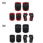 6Pcs Kids Protective Gear Knee Elbow Pads Wrist Guards for Skating Cycling Bike image