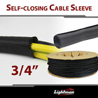 Split Braided Cable Cover Sleeving Wiring Loom Harnessing Sheathing Guard Lot