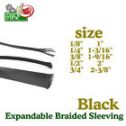 Expandable Cable Sleeving Braided Tubing Cord Protector Wire Harness Lot
