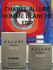 CHANEL ALLURE HOMME EDITION BLANCHE EDP SPRAY 1, 2, 3, 5, 7  10ML AUTHENTIC