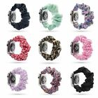 Fashion Scrunchie Elastic Watch Band for Apple Watch 38mm/40mm Iwatch New Strap image