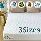 Set of 2 Luxury Waterproof Quilted Mattress Protector Cover Full/King/CK Size MX image