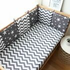 Baby Bumper For Newborn Nordic Thick Soft Bumpers Room Decoration Crib Protector