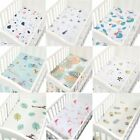 100 Cotton Soft Baby Bed Mattress Cover Cartoon Newborn Infant Bedding For Cot