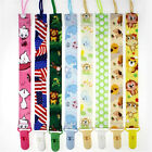 Girls Boys Cartoon Pacifier Chain Baby Products Clip Tether Toddler Holders Gift