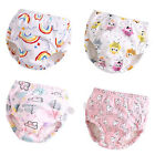 Infant Breathable Absorbent Fast Diaper Baby Pants Toddler Nappy Cute Cartoon US image