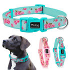 Floral Noble Nylon Pet Dog Collar Adjustable Necklace for Small Medium Large Dog