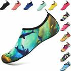 VIFUUR Water Sports Shoes Barefoot Quick-Dry Aqua Yoga Socks Slip-on for Men Wom