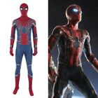 High-quality Avengers Infinity War Spider-Man Peter Parker Cosplay Costume