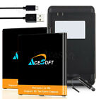 AceSoft 3700mA Battery or Charger for MetroPCS Samsung Galaxy J3 Prime SM-J327T1