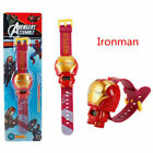 Electronic Kids Toys Watch Marvel Avengers Hero Spiderman Hulk Ironman Gift US