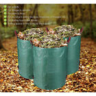 Large Garden Waste Bag ,Grass Waste Rubbish Bag Reusable Leaves Refuse Sack HD3