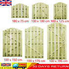 Wooden Arched Garden Gate Fsc Impregnated Pinewood Fence Door Side Picket Gates