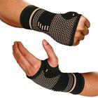 Kyпить 1 Pair Copper Fit Arthritis Compression Gloves Hand Support Joint Pain Relief на еВаy.соm