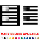 Set of 2 USA American Flags Vinyl Decals Stickers MANY SIZES and COLORS  V1N $15.95 USD on eBay