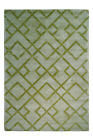 3D Rug Aztec Pattern Structure Design Rugs Grey Green