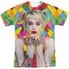 Birds Of Prey Feathers Harley Quinn DC Comics Licensed Sublimation T-Shirt image