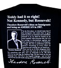 Teddy Roosevelt Immigration T-Shirt Theodore Pro American Patriotic Tee USA New image