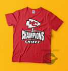 Super Bowl LIV 54 Champions Kansas City Chiefs T Shirt Design Adult SM-3XL $15.99 USD on eBay