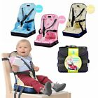 Portable Chair Bag Foldable Infant Travel Booster Seat Safety Dining High Chair