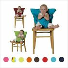 Baby Chair Travel Foldable Washable Dining High Dinning Cover Seat Safety Belt