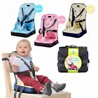 Safety Baby Chair Seat Portable Infant Dining Highchair Seat Safety Suspender