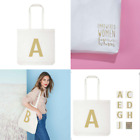 Avon Initial Shopper - Glitter Letter Shopping Bag - Empowerment for women