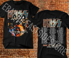 KISS T-shirt End Of The Road World Tour 2020 Leg 5 - 8 Complete Date MusicTee #3 image