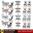 Garden Patio Coffee Table Outdoor Side Table Plant Table Bistro Table&Chairs Set