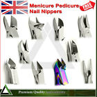 Manicure Pedicure Nippers UV Shape Cutters Heavy Duty Thick Toenail Clippers