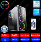 Fast Quad Core I7 Gtx 1650 Gaming Pc 16gb Ram Windows 10 Desktop Computer 2tb