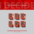 ikon I decide 3rd Mini [Photo Card] RED Ver.