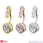 Belly Button Rings Clear Cz Navel Rings Belly Rings Belly Piercing Body Piercing