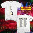 New Black Violin Impossible Tour 2019 2020 White Tee's with Tour Dates T-shirt image