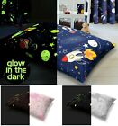 Large Printed Glow in the Dark Multi Purpose Floor Cushion Removable Cover 58x85